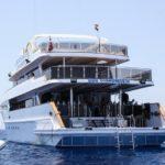 Rückansicht Tauchschiff Ocean Window