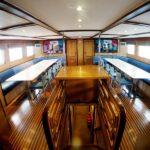 Essbereich Tauchschiff Blue Voyager