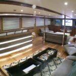 Sky Lounge Safariboot Blue Voyager