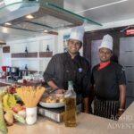 Küchencrew Safariboot Maldives Aggressor II