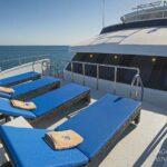 Sonnendeck Tauchschiff Maldives Aggressor II