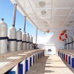 Tauchdeck Safarischiff Blue Melody