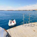 Tauchplattform Safariboot Blue Melody
